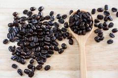 Gebratene Kaffeebohne Lizenzfreies Stockfoto