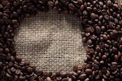 Gebratene Kaffeebohne stockfotos