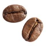 Gebratene Kaffeebohnen Stockfoto