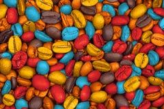 Gebratene Kaffeebohnen Lizenzfreies Stockbild
