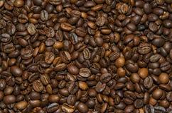 Gebratene Kaffeebohnen Lizenzfreies Stockfoto