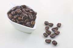 Gebratene Kaffeestartwerte für zufallsgenerator Stockbilder