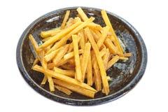 Gebratene Kartoffel Stockfotografie