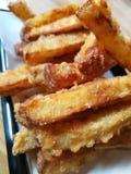Gebratene Kartoffel stockbilder