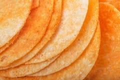 Gebratene Kartoffelchips Stockbilder
