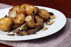 Gebratene Kartoffeln Lizenzfreie Stockbilder