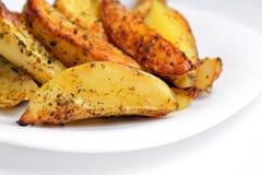 Gebratene Kartoffeln Stockfotos