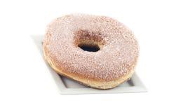 Gebratene Schaumgummiringe mit Zucker Lizenzfreies Stockbild