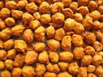 Gebratene würzige Erdnüsse Lizenzfreie Stockfotos