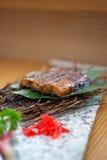 Gebratener Aal der japanischen Art Stockbild