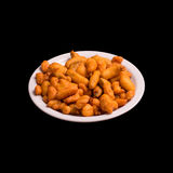 Gebratener Gemüsetempura Stockfoto
