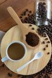 Gebratener Kaffee Stockfoto