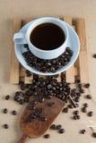 Gebratener Kaffee Lizenzfreie Stockfotos