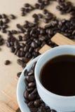Gebratener Kaffee Stockfotos