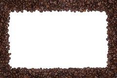 Gebratener Kaffeebohne-Rand Lizenzfreies Stockfoto