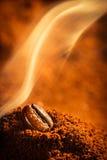 Gebratener Kaffeegeruch gut Lizenzfreie Stockbilder