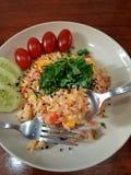 Gebratener Reis lizenzfreie stockfotos