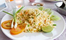Gebratener Reis lizenzfreie stockbilder