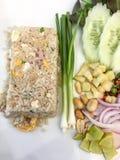 Gebratener Reis Stockbild