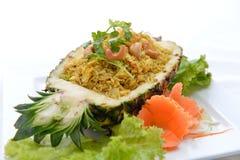 Gebratener Reis der Ananas Lizenzfreie Stockbilder