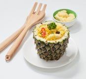 Gebratener Reis der Ananas Lizenzfreie Stockfotografie