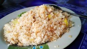 Gebratener Reis der Ananas Stockbilder