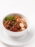 Gebratener Reis mit Würzen Lizenzfreies Stockfoto