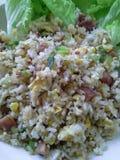 Gebratener Reis, thailändisches Lebensmittel Stockfotografie