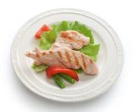 Gebratener Truthahn mit Gemüse lizenzfreies stockfoto