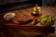 Gebratenes Fleisch mit Gemüse Lizenzfreies Stockbild