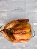 Gebratenes ganzes Huhn/Truthahn Stockbilder