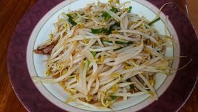 Gebratenes Gemüse mit Austerensoße Stockfotos