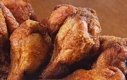 Gebratenes Hühnerbeine Stockfoto