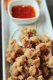Gebratenes Hühnernuggets ist- köstlich stockfoto