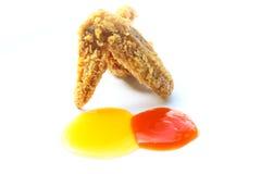Gebratenes Huhn Stockfotos