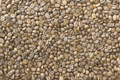 gebratenes Korn, Kaffee, Hintergrund, Beschaffenheit Lizenzfreie Stockfotografie