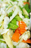 Gebratenes Mischungsgemüse stockfotografie