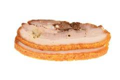 Gebratenes Schweinefleisch Stockfotos