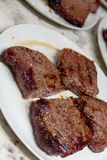 Gebratenes Steak Lizenzfreie Stockbilder