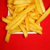 Gebrauch-Makroobjektiv der Pommes-Frites closeup Lizenzfreies Stockbild
