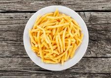 Gebrauch-Makroobjektiv der Pommes-Frites closeup Stockfoto