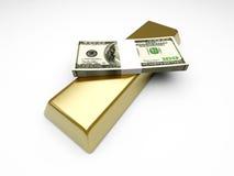 Gebrauchsgüter und Bargeld stock abbildung