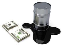 Gebrauchsgüter und Dollar lizenzfreie abbildung