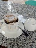 Gebrauter Kaffee lizenzfreie stockfotos