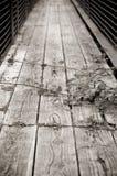 Gebrechliche Brücke Lizenzfreie Stockfotografie