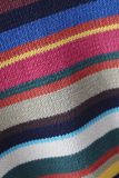 Gebreid Multicolored fabrick Stock Foto's