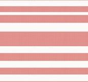 Gebreid naadloos stoffenpatroon, rode textuur Royalty-vrije Stock Foto's