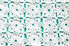 Gebreid Textuurclose-up als achtergrond Royalty-vrije Stock Foto