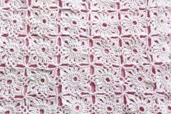 Gebreid Textuurclose-up als achtergrond Royalty-vrije Stock Foto's