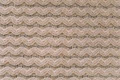 Gebreide achtergrond breiend patroon van wol knitting Textuur van gebreide wollen stof voor behang en een abstracte achtergrond stock foto's